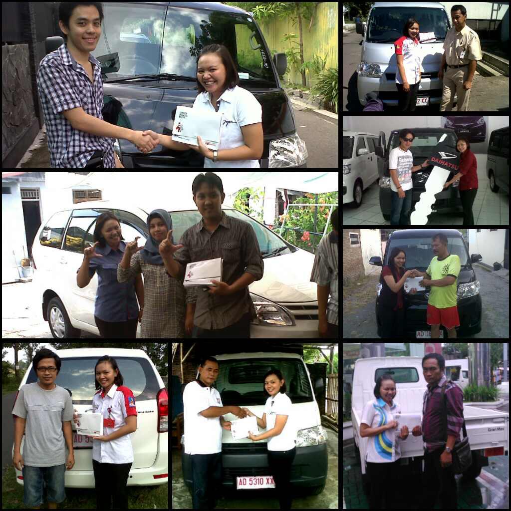 Foto Penyerahan Unit Gabungan 2 Sales Marketing Mobil Daihatsu Wonogiri Karanganyar