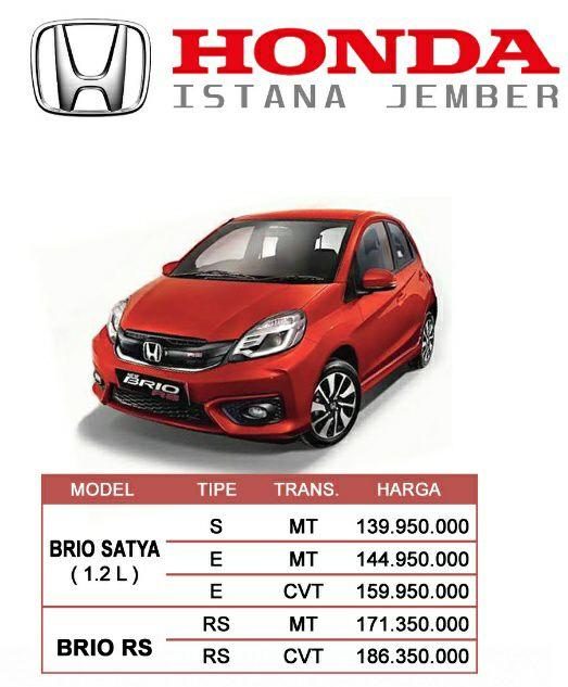 Harga 12 Honda Jember By Eko