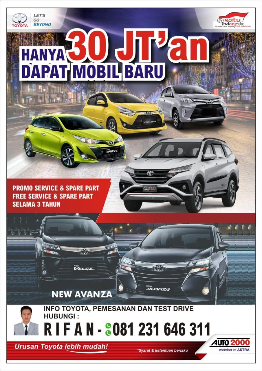 Promo Mobil Toyota By Rifan