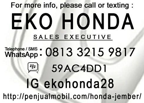 Sales Honda Jember Eko