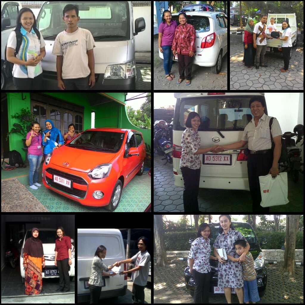 Foto Penyerahan Unit Gabungan 1 Sales Marketing Mobil Daihatsu Wonogiri Karanganyar