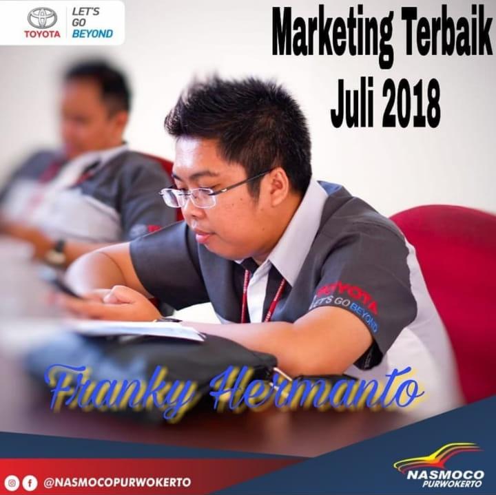 Sales Marketing Mobil Toyota Frangky